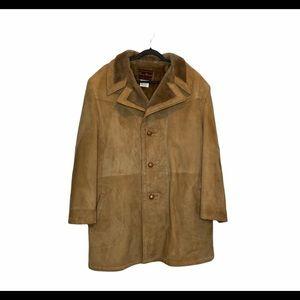 George Richards Vintage Genuine Leather Winter Jacket